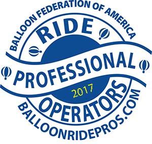 Balloon Federation of America, Winner of 2017